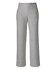 Joanna Hope Gold Trim Jersey Trousers
