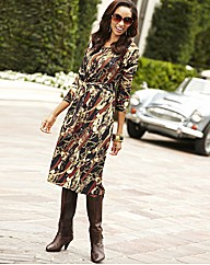 Joanna Hope Chain Print Jersey Dress