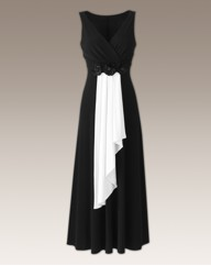 Joanna Hope Contrast Maxi Dress