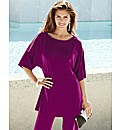 Joanna Hope Split Sleeve Jersey Tunic