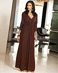 Joanna Hope Glitter Jersey Maxi Dress