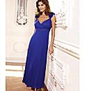 Joanna Hope Pleated Corsage Dress