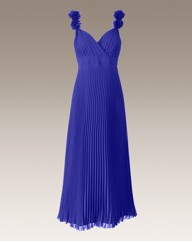 Joanna Hope Pleated Corsage Dress