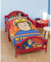 Fireman Sam Toddler Bed