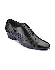 Cuban Heel Lace Up Shoes Standard Fit