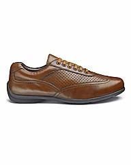 Brevitt Lace Up Casual Shoes Wide Fit