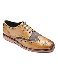 Williams & Brown Tweed Detail Brogues S