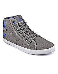 Voi Lace Up Quilted Hi Tops