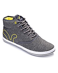 Voi Lace Up Hi-Top Trainers
