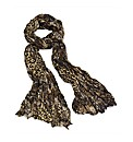 Petal Dolls Brown Snake Scarf