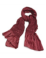 Petal Dolls Red Petal Scarf