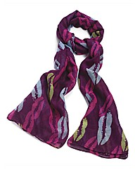 Petal Dolls Purple Kiss Scarf