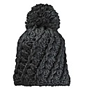 Chunky Knit Bobble Hat