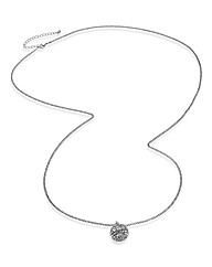 Long Pendent Sparkle Necklace