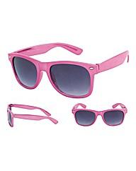 Viva La Diva Retro Classic Pink Wayfarer