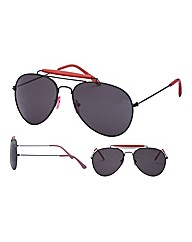 Viva La Diva Retro Classic Red Aviator