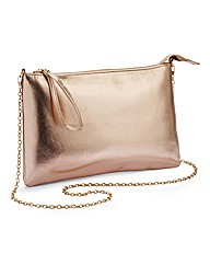 Metallic Envelop Clutch Bag