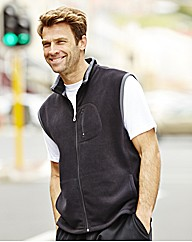 PMAN JCM Sports Fleece Gillet