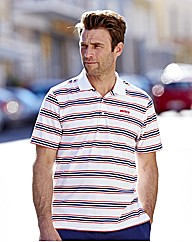 Mitre Striped Polo Long