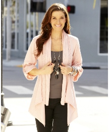 Waterfall Shrug Cardigan