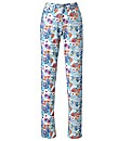 Print Jeans Length 33in