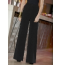 Jersey Wide Leg Trousers Length 30in