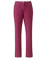 Coloured Skinny Jeans Length 32in