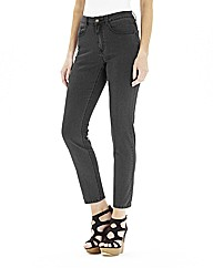Simple Be Chloe Ankle Grazer Jeans Reg