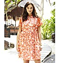 Poppy Print Shirt Dress