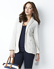 Tall Spot Jersey Blazer