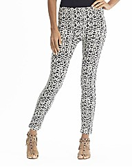Monochrome Print Leggings