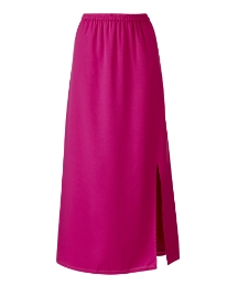 Side Split Maxi Column Skirt