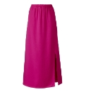 Petite Side Split Maxi Column Skirt