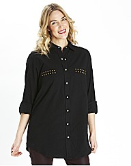 Stud Pocket Shirt