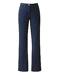 Navy Coloured Skinny Jeans 30in