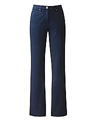 Coloured Slim Leg Jeans 30in