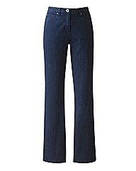 Tall Navy Coloured Skinny Jeans 32in