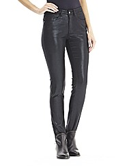 Lana Wet Look Skinny Jeans 33in