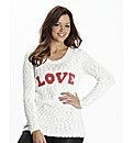 Love Logo Jumper