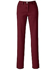 Coloured Skinny Jeans Length 30in