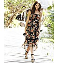 High Low Hem Maxi Dress