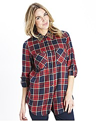 Stud Checked Shirt