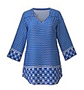 Tile Print Tunic