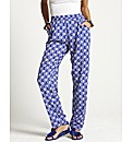 Tile Print Pyjama Trousers