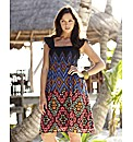 Aztec Print Dress