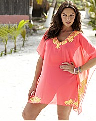 Bright Pink Kaftan Top