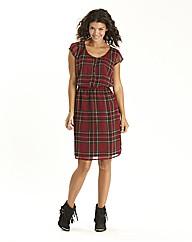 Tartan Print Dress