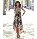 Geo Print Maxi Dress