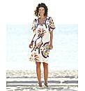 Print Kaftan Dress