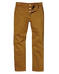 Jacamo Stretch Tobacco Chinos 33 Inch